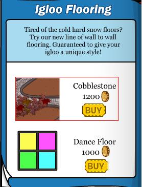 New Igloo Floor